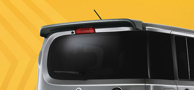 2013 Nissan Cube Rear Roof Spoiler