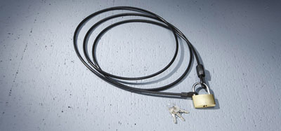 2013 Nissan Juke Vehicle Cover Cable Lock 999N4-A7000