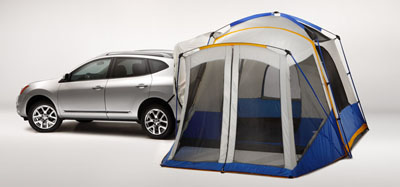 2014 Nissan Rogue Select Hatch Tent