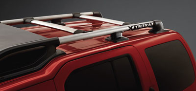 2015 Nissan Xterra Roof Rail Cross Bars 999R1-KX100