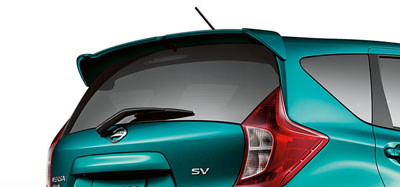 2014 Nissan Versa Rear Spoiler - Note