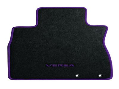 2016 Nissan Versa Colored Carpeted Floor Mats - Versa Note