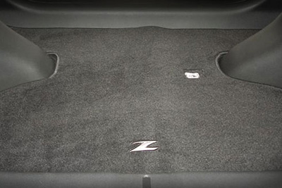 2009 Nissan 370Z Carpeted Trunk Mat 999E3-ZV001