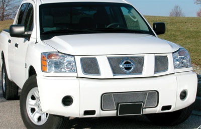 2008 Nissan Pathfinder Armada Stainless Steel Fine Mesh Grill 42301028