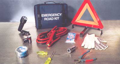 2010 Nissan Frontier Crew Cab Roadside Emergency Kit 999M1-AT000