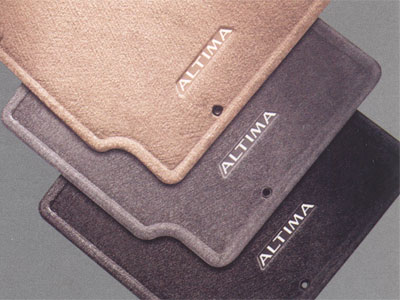 2009 Nissan Altima Carpeted Floor Mats