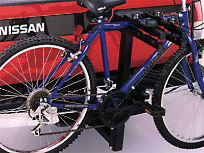2004 Nissan Frontier Crew Cab Hitch Mount Bike Carrier 999R1-BJ000