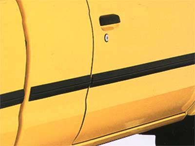 2003 Nissan Frontier Crew Cab Body Side Molding