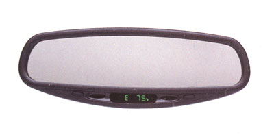 2004 Nissan Frontier 2 Dr Auto-dimming Rear View Mirror