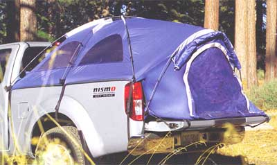 2014 Nissan Frontier 2 Dr Bed Tent 999T7-BY300