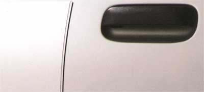 2003 Nissan Frontier 2 Dr Door Edge Guards