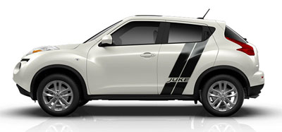 2014 Nissan Juke Original Wraps Graphics