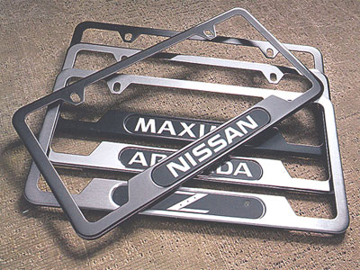 2016 nissan altima license plate frame 999mb sv000