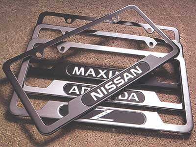 2008 Nissan Quest License Plate Frames
