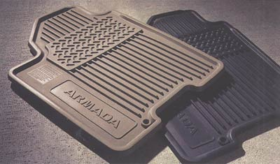 2010 Nissan Pathfinder Armada All-Season Floor Mats