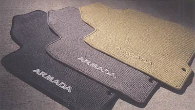 2012 Nissan Pathfinder Armada Carpeted Floor Mats