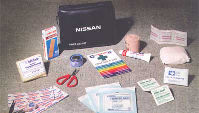 2014 Nissan Versa First Aid Kit 999M1-ST000