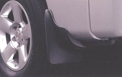 2005 Nissan Pathfinder Armada Splash Guards