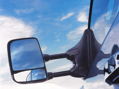 2004 Nissan Pathfinder Armada Trailer Tow Mirror Kit