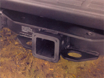 2004 Nissan Pathfinder Armada Receiver Hitch 999T5-2Q200