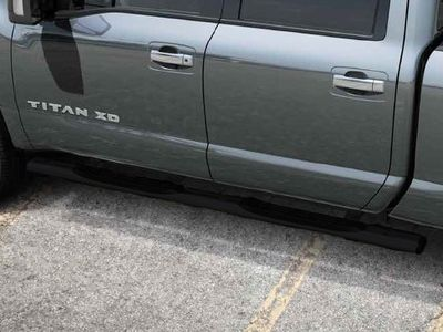 2017 Nissan Titan Step Rails - Painted Charcoal 999T6-W4350