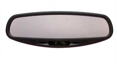 2006 Nissan Sentra Auto-dimming Rear View Mirror