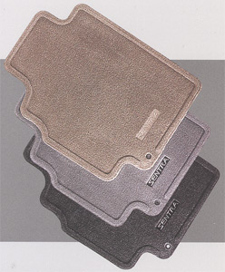 2015 Nissan Sentra Carpeted Floor Mats 999E2-L2000