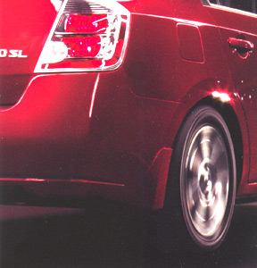 Nissan Sentra Splash Guards - Rear Set - Titanium