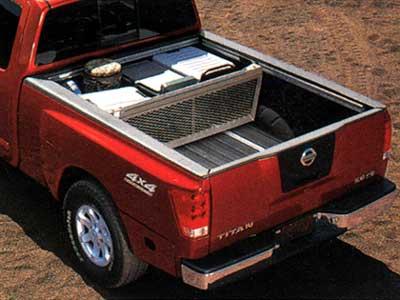 Genuine Nissan Accessories 999T7-WQ900CC Chrome Bed Tube Rail