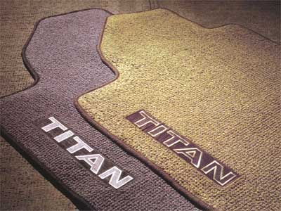 2010 Nissan Titan Carpeted Floor Mats