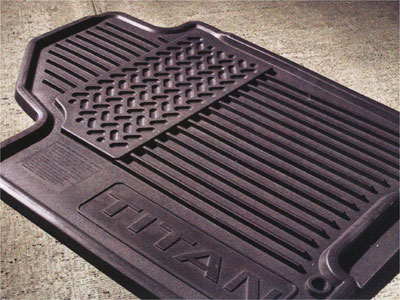 2007 Nissan Titan All-Season Floor Mats 999E1-WQ000