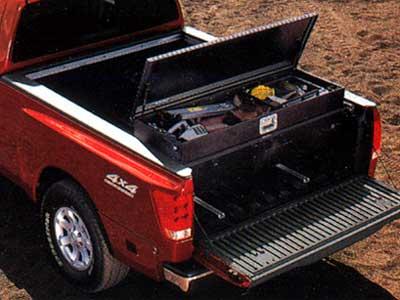2007 Nissan Titan Utili Track Sliding Tool Box