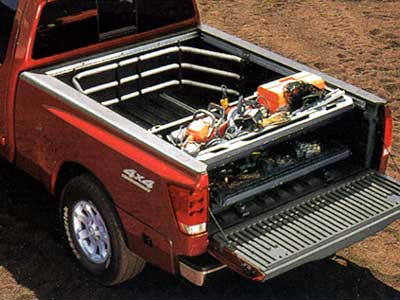 2005 Nissan Titan Utili Track Sliding Floor Tray 999C3 WQ200