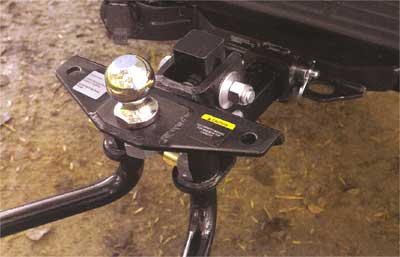 2004 Nissan Titan Weight Distributing Hitch Ball Mount - C 999T7-WQ820