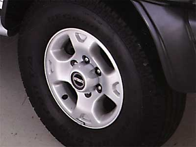 2001 Nissan Xterra Alloy Wheels