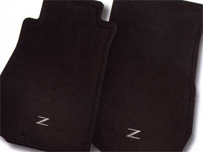 2004 Nissan 350Z Carpeted Floor Mats 999E2-ZP000BK