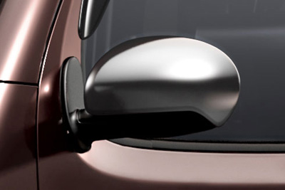 2013 Nissan Cube Chrome Side Mirror Covers 999L2-7V100