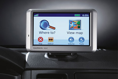 2013 Nissan Titan Portable Navigation by Garmin