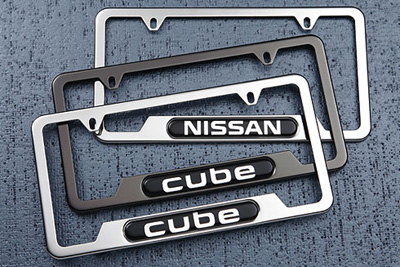 2017 Nissan NV200 License Plate Frame 999MB-SV000