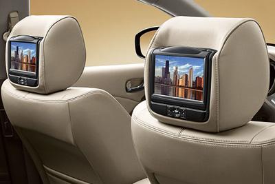Nissan Murano Headrest DVD