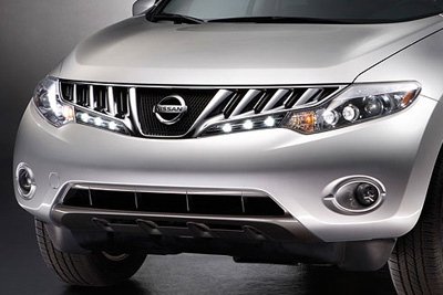 2014 Nissan Murano LED Daytime Driving Lights B66M0-1AA0B