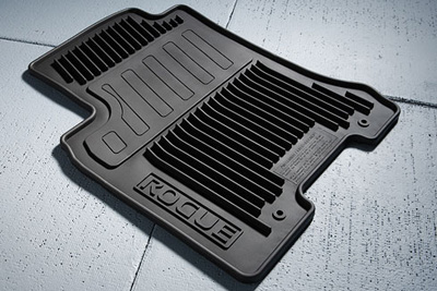 2013 Nissan Rogue All Season Floor Mats 999E1-GU001BK