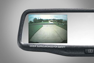 2009 Nissan Rogue In-Mirror Rearview Monitor 999Q6-VV000