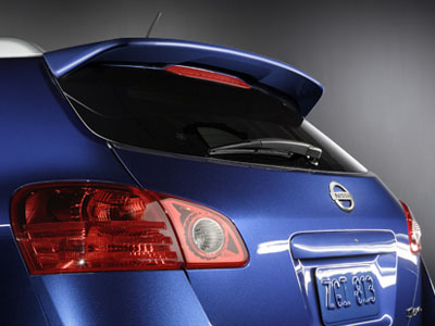 2010 Nissan Rogue Rear Spoilers