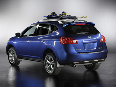 2008 Nissan Rogue Ski Snowboard Carrier