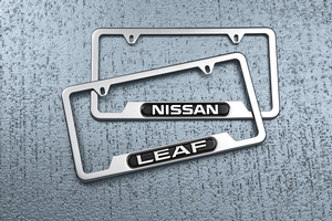 2014 Nissan Leaf License Plate Frame 999MB-8X000