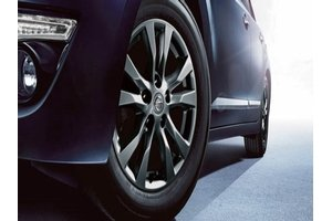 2017 Nissan Altima 16 Inch Alloy Wheel - Gunmetal