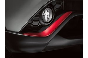 2015 Nissan Juke Front and Rear Bumper Accents - Colored