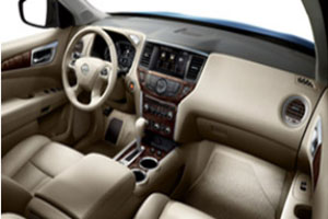2014 Nissan Pathfinder Interior Accent Lighting