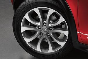 2013 Nissan Juke 17 inch 5-Split Spoke Alloy Wheel